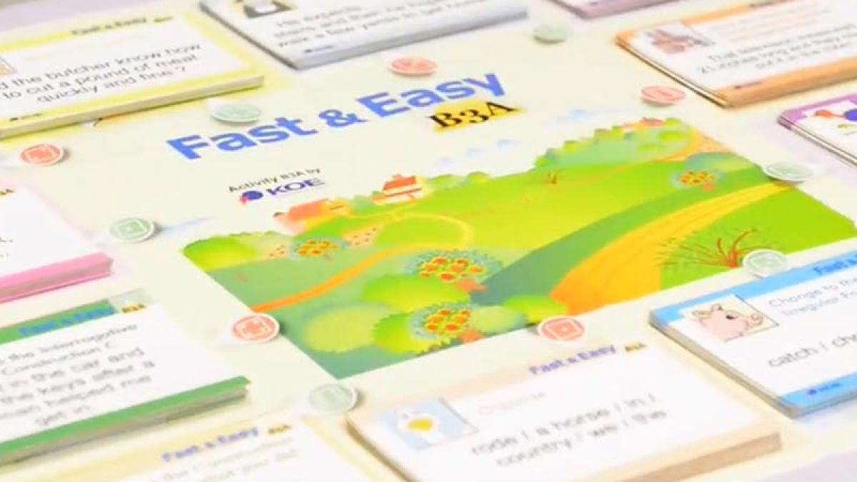 KOE tiene la clave para aprender Inglés fácilmente: Jugando