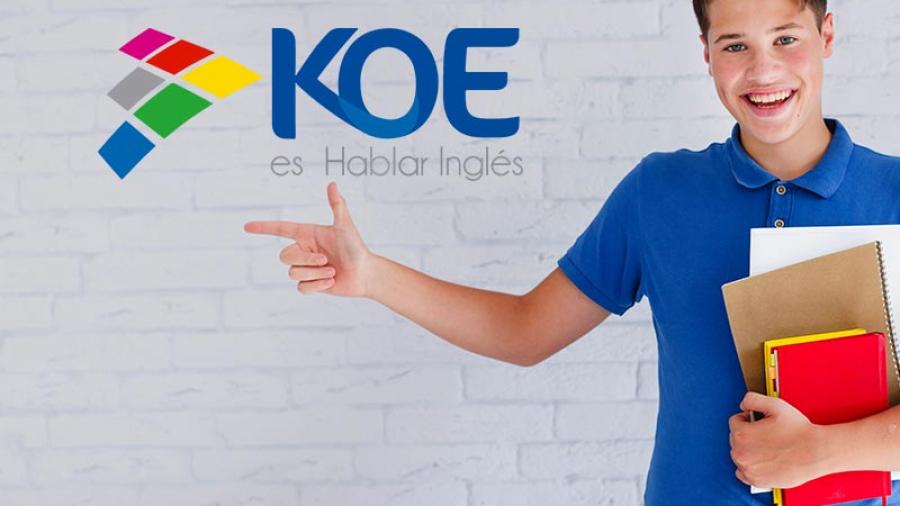 KOE es la forma fácil y cómoda de aprender Inglés