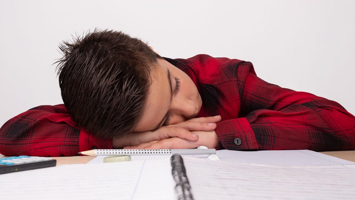 ¿Por qué te dormías en clases?